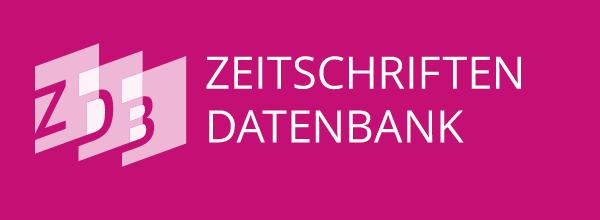 Logotipo do ZDB com link externo para exibir a página da Revista no indexador